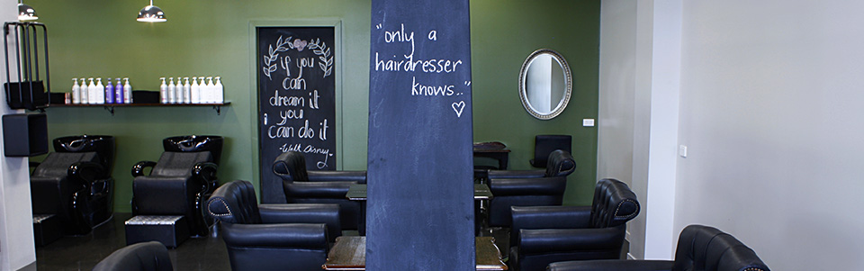 Only a hairdresser knows!