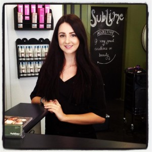 sarah - salon manager